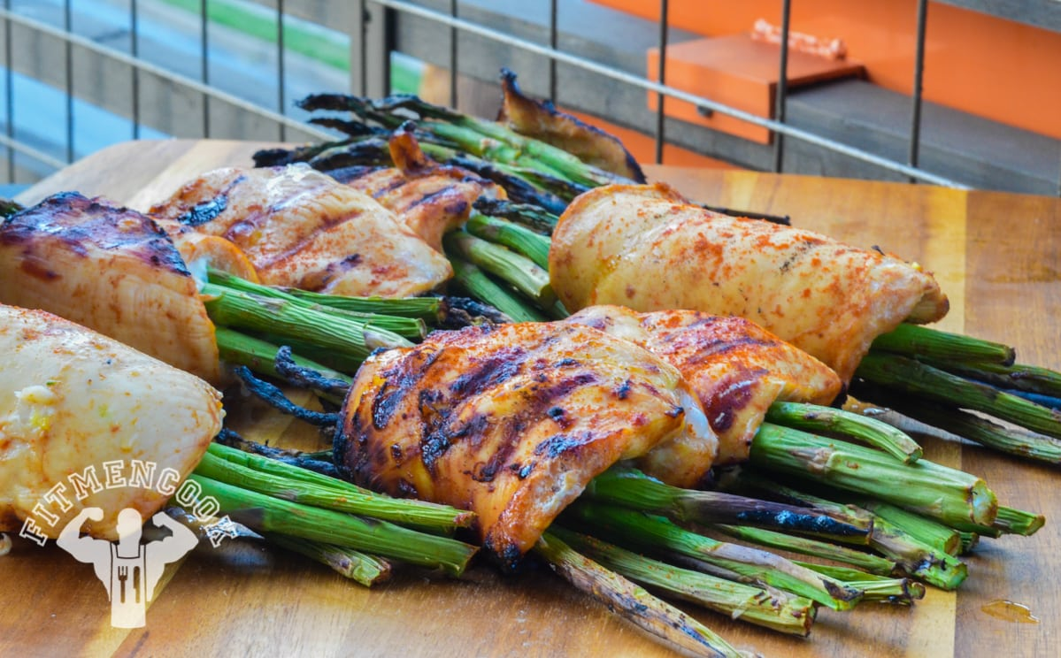 chicken wrapped asparagus recipe