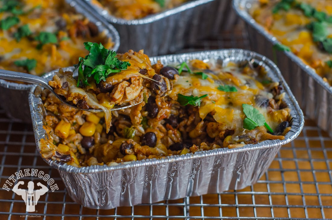 Super Fit Tex Mex Chicken Rice Enchilada Rice