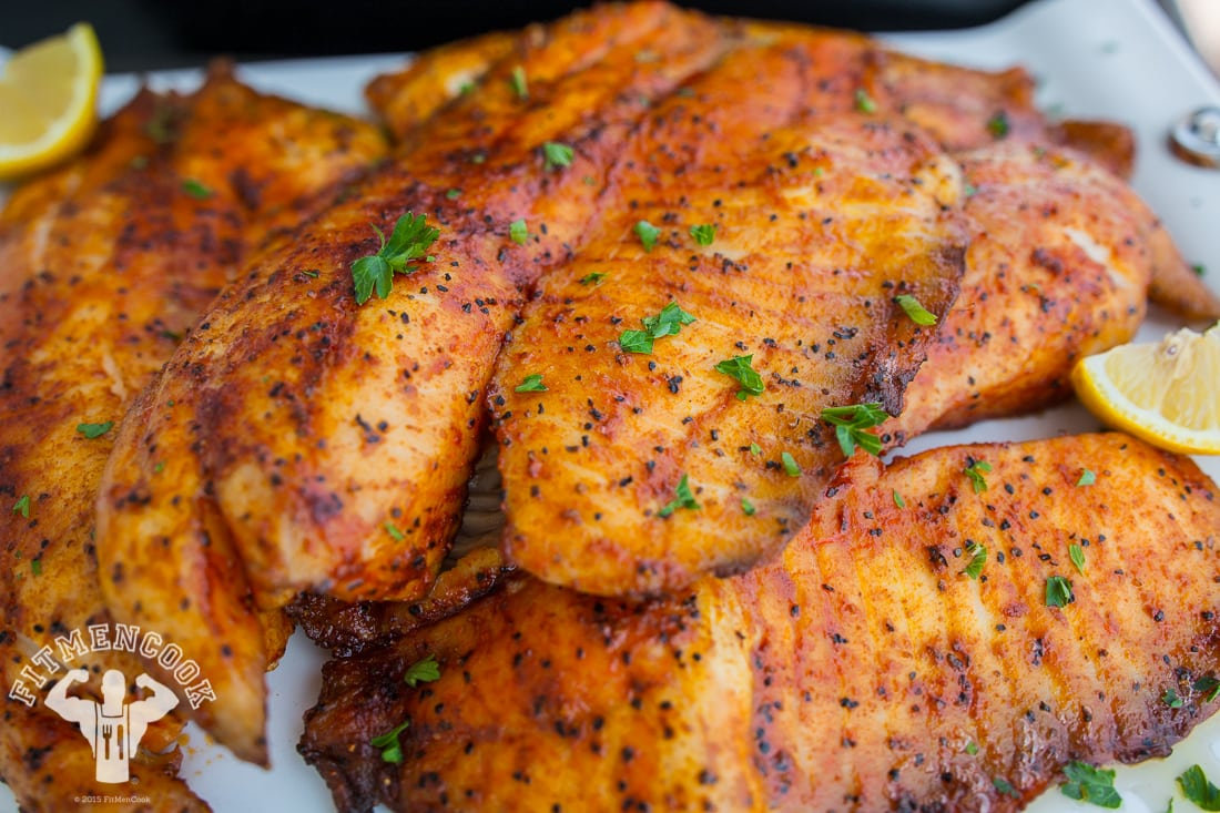 Spicy tilapia meal prep fit men cook for How to make tilapia fish
