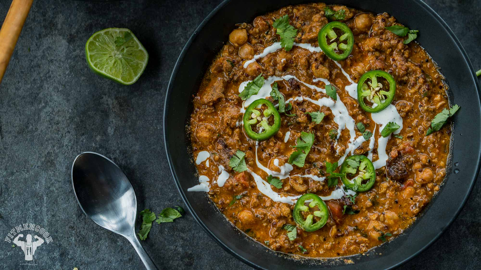world's best red curry vegan chili
