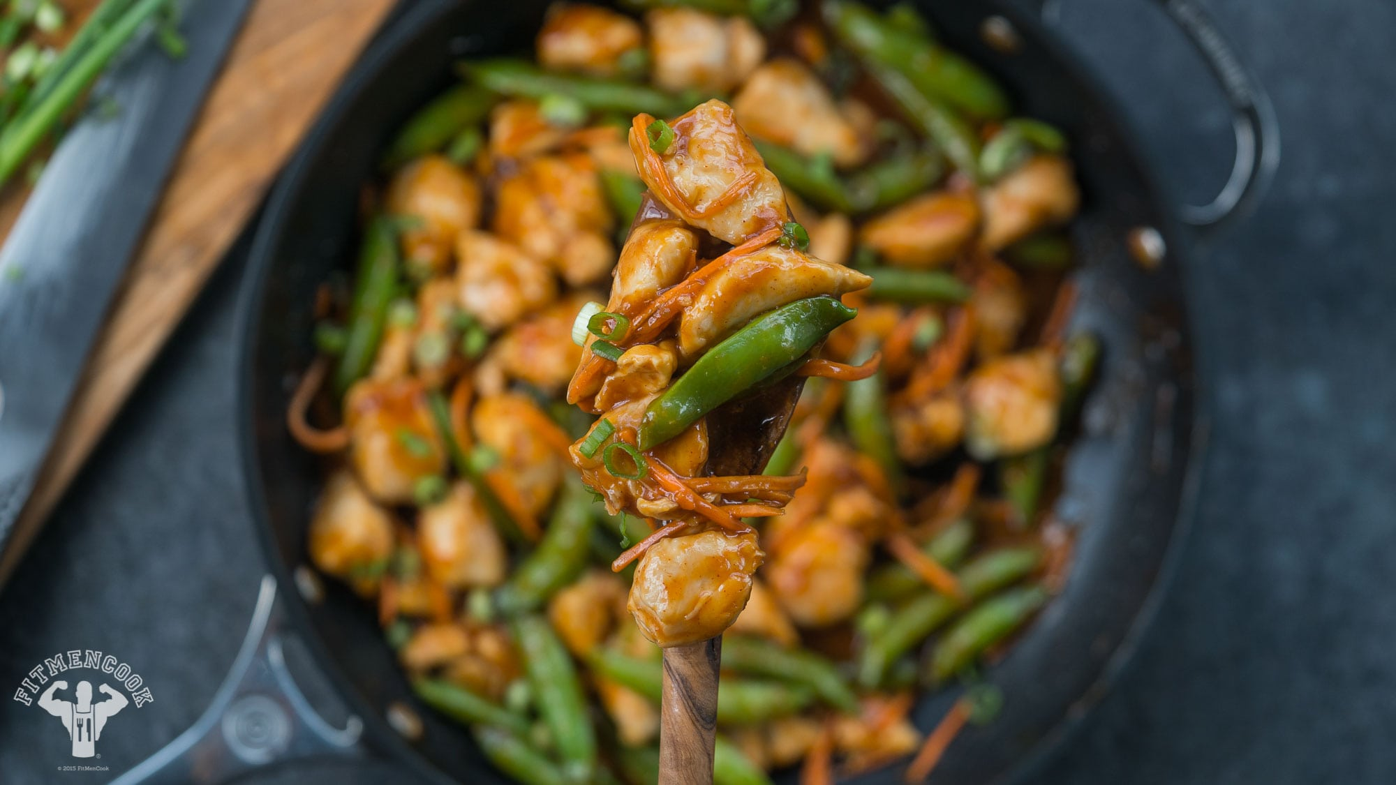 korean gochujang chicken stir fry