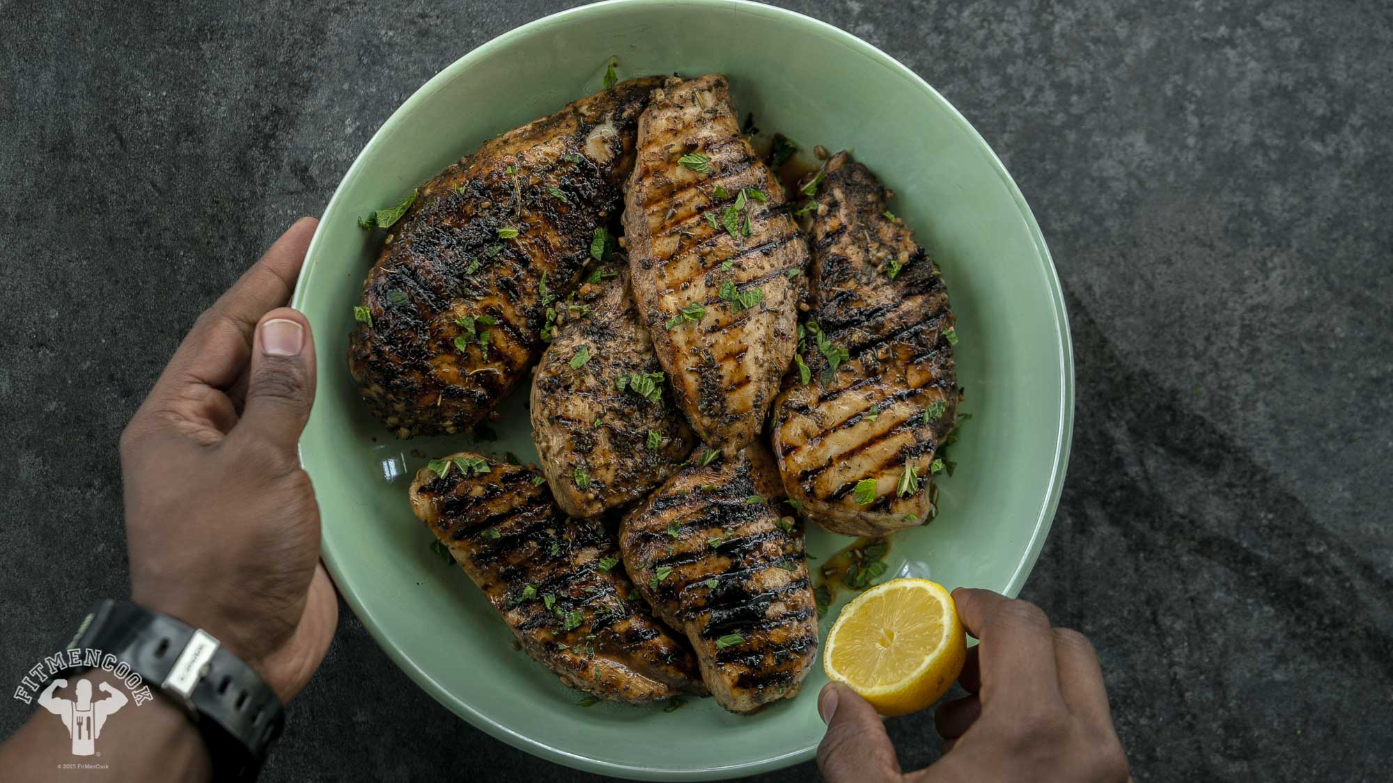 balsamic grilled chicken
