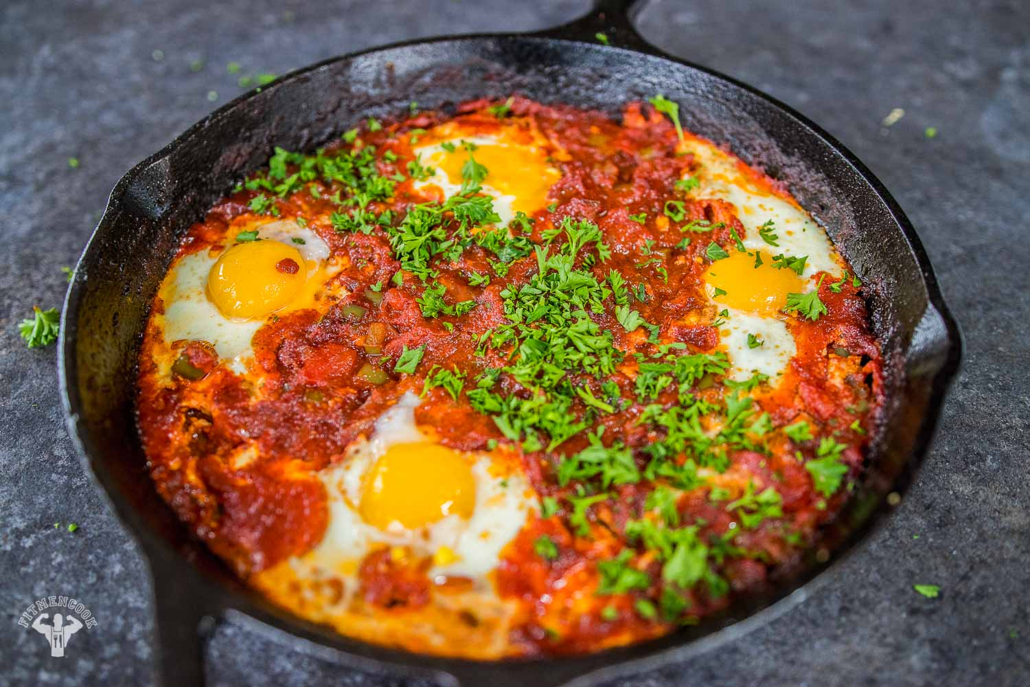 Shakshuka Recipe - Ideal Breakfast Meal - Fit Men Cook