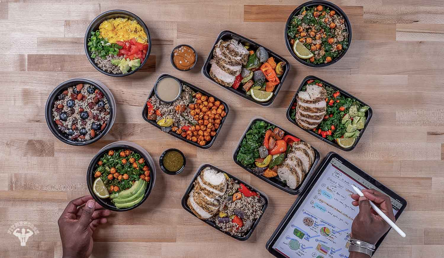 Mix and Match Meal Prep