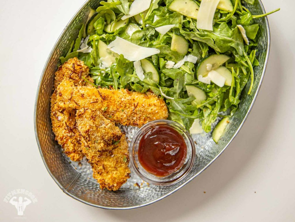 spicy parmesan chicken tenders