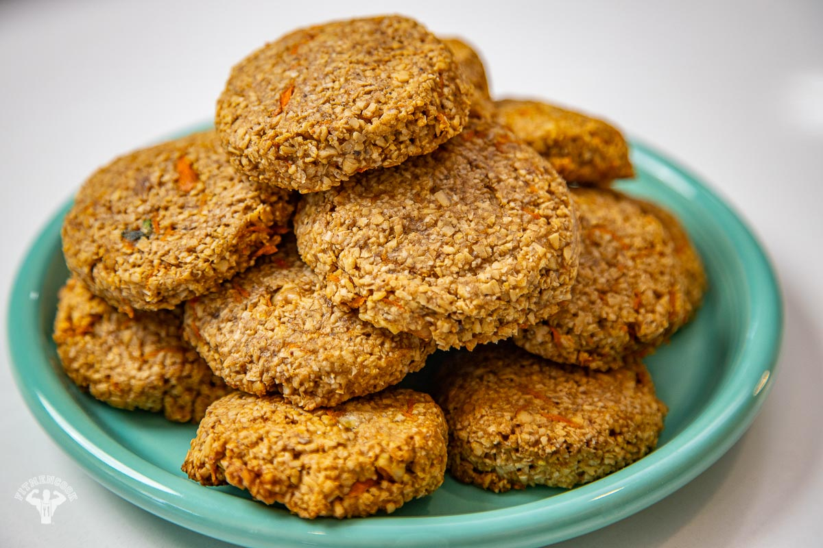 carrot cake oat cookies