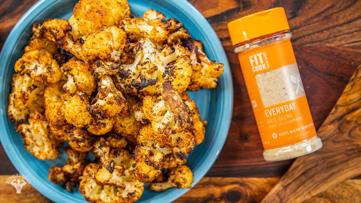 Air Fried Tex Mex Cauliflower Munchies