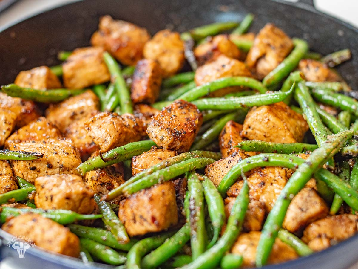 Keto Butter Pork & Green Beans