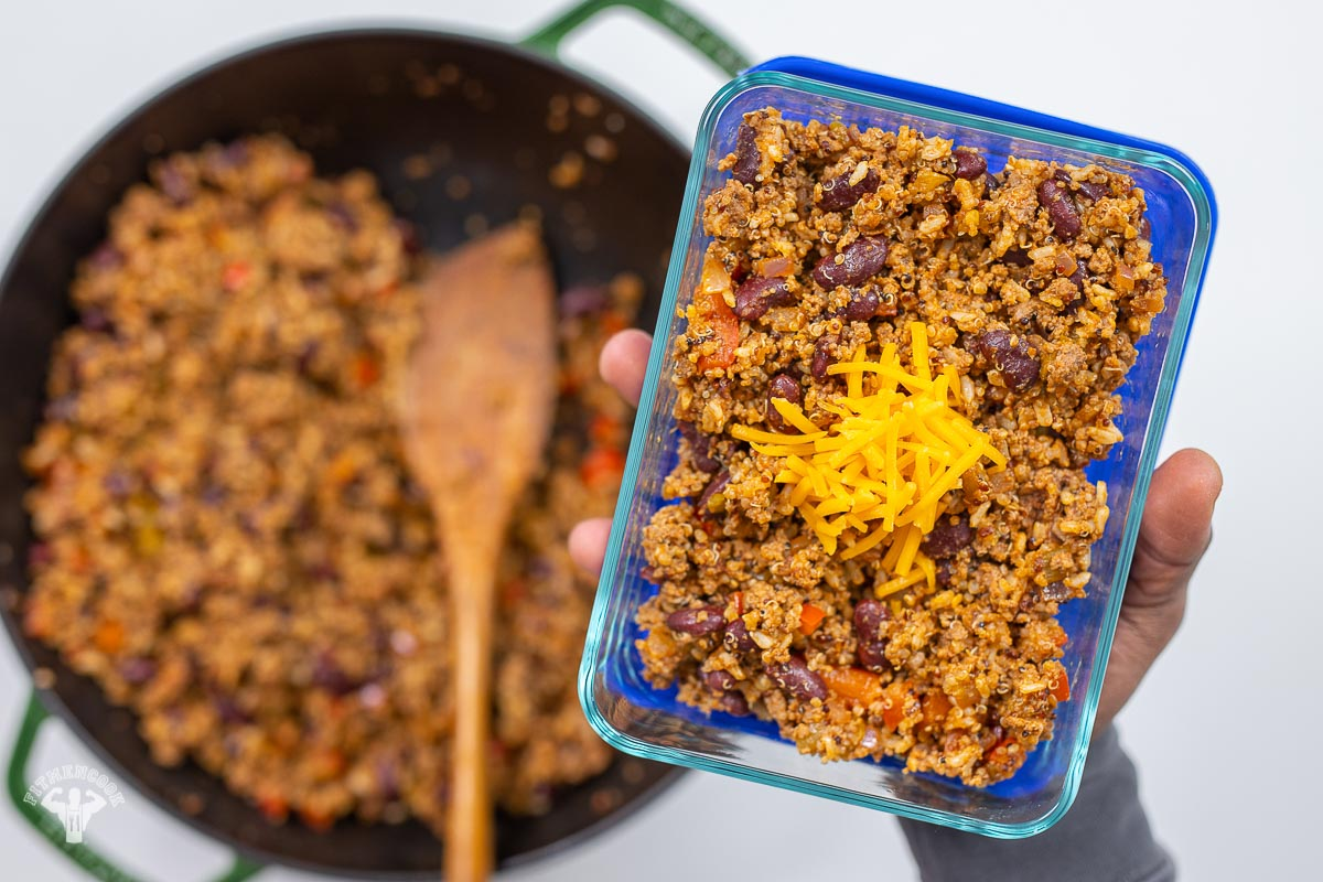 Snap Kitchen Copycat - Bison Quinoa Hash