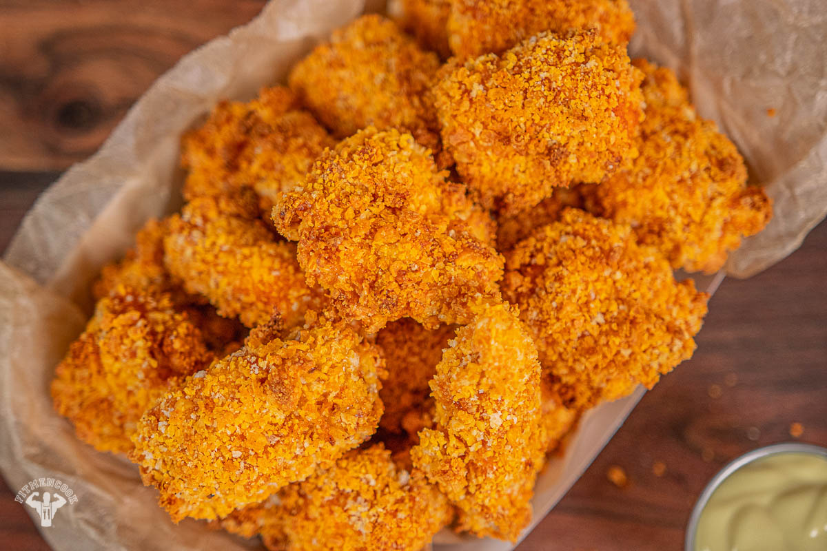 Moon Cheese Air Fried Popcorn Chicken