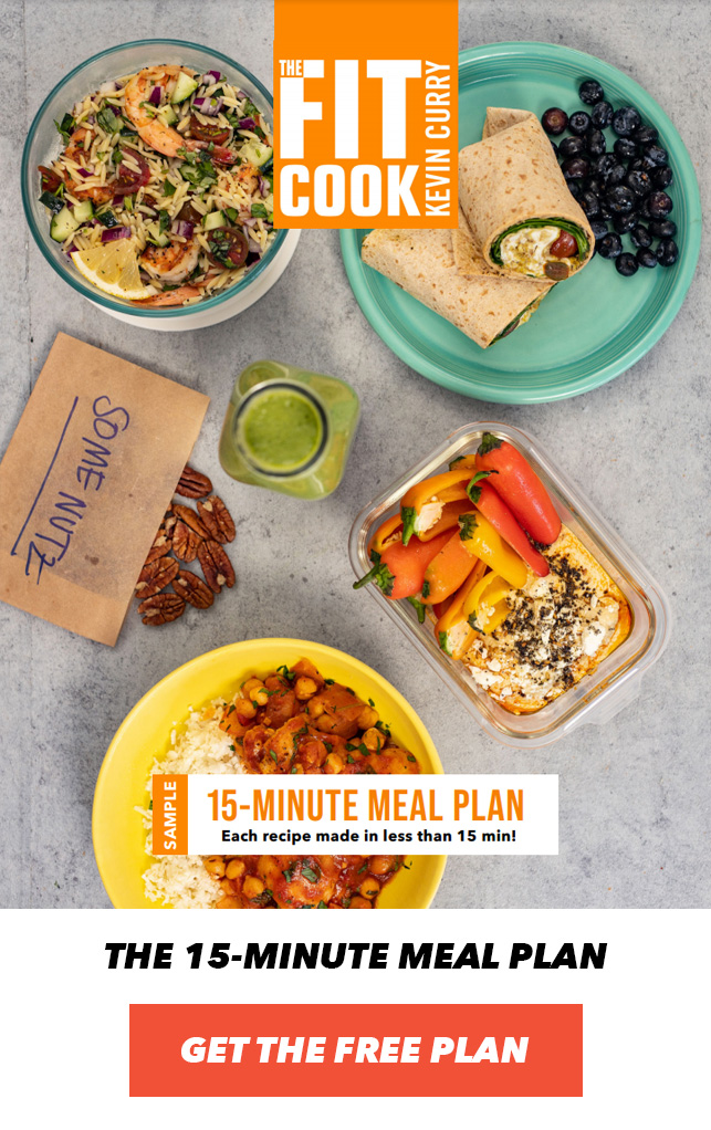15 minute meal plan